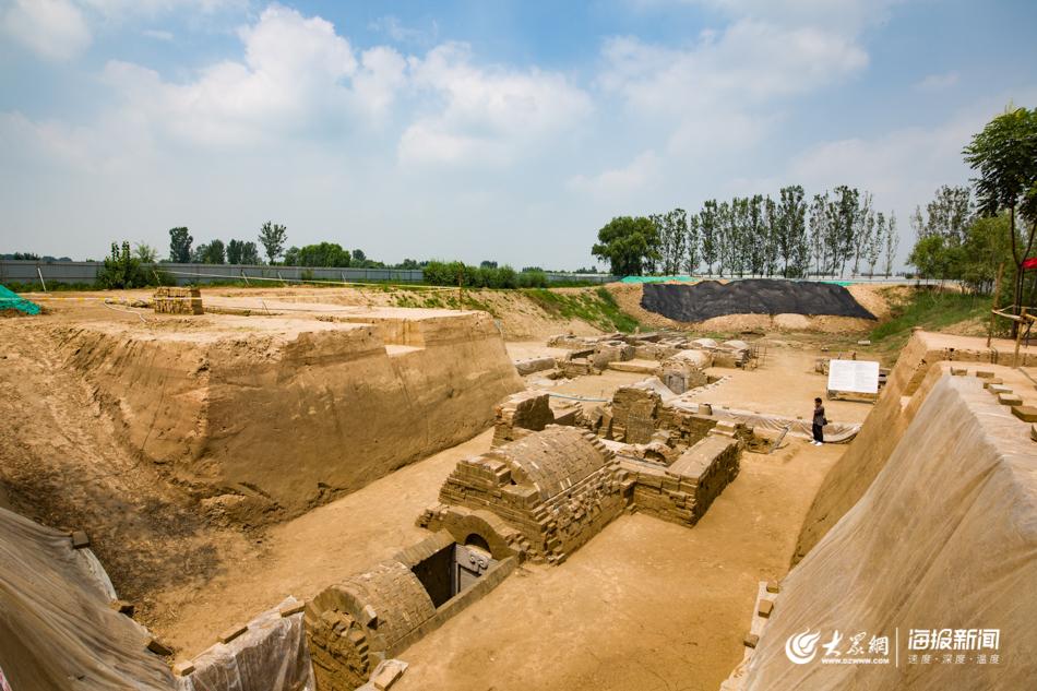 济南现神秘汉墓:藏身水下雕刻精...