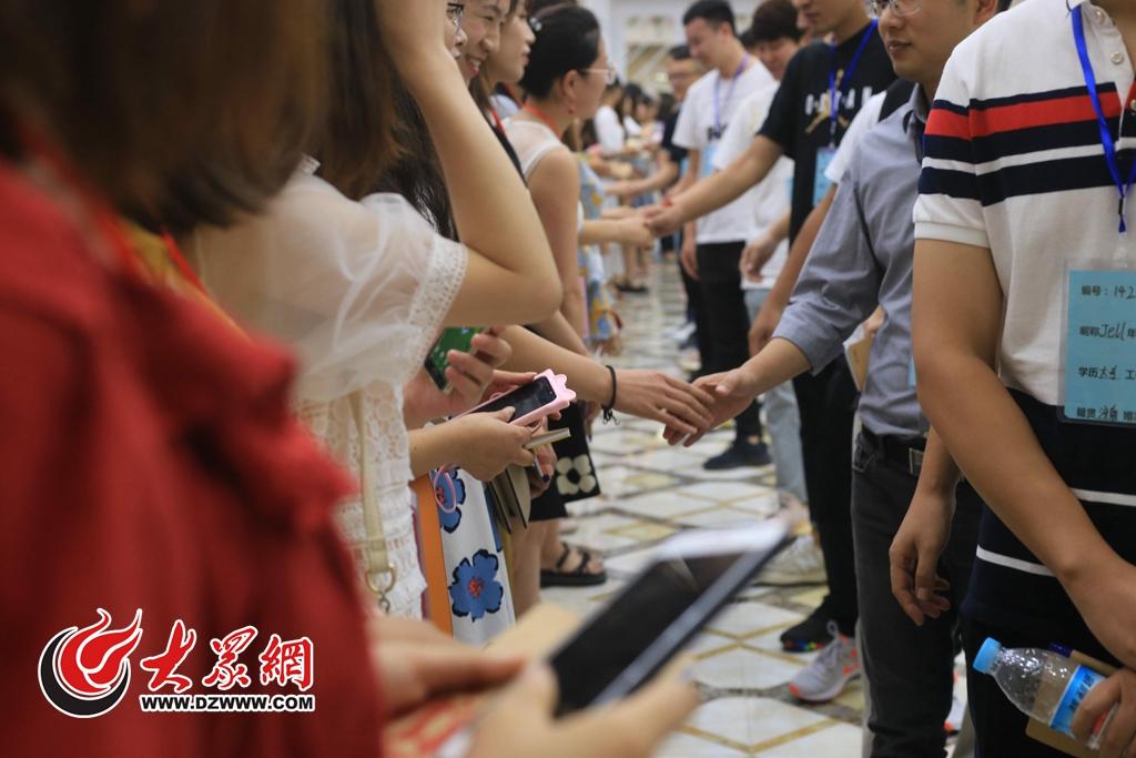 第二届罗芙威宫大型公益相亲会在济南