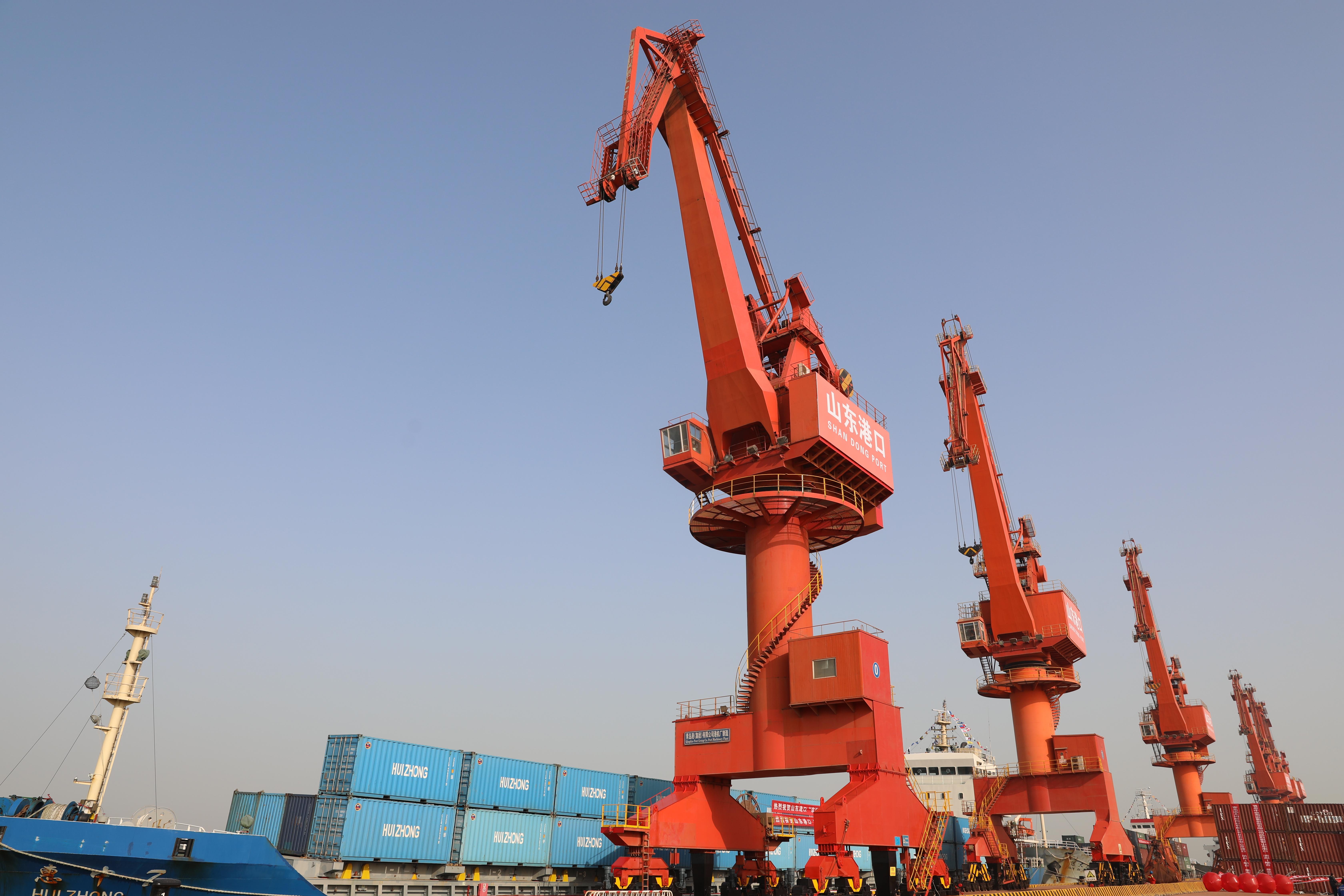"""这两条航线开通后 滨州有海运运输需求的企业再也不用靠""""捎货"""""""